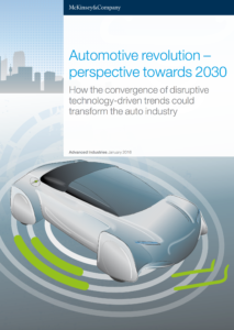 Automotive Revolution – Perspective Towards 2030