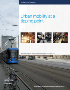 Urban Mobility at a Tipping Point